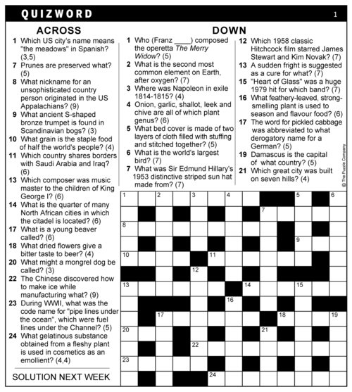 Two Way Crossword Synonym Cryptic 13x13 Knight Features Content Worth Sharing