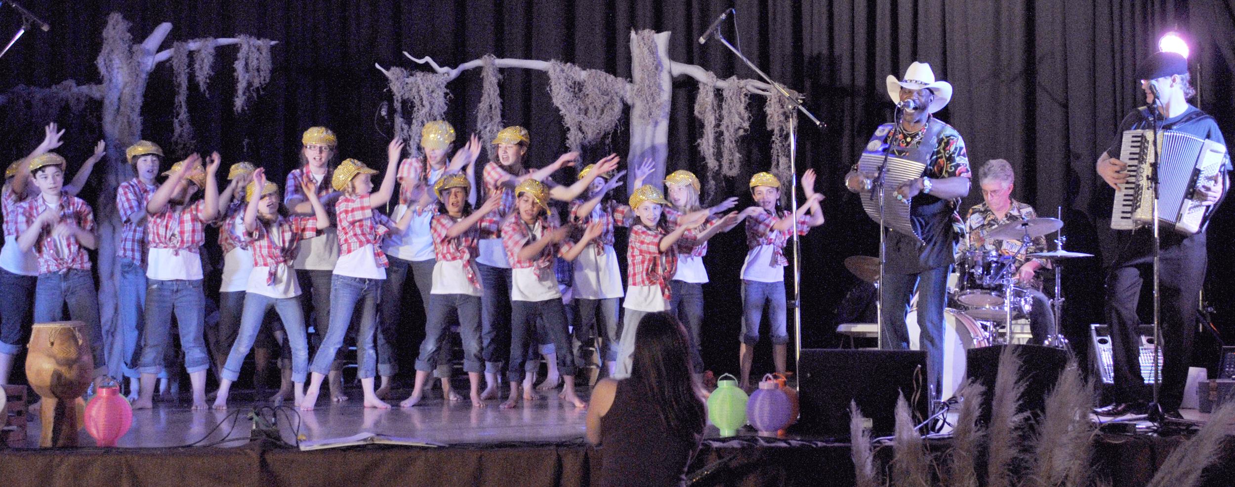 "2011 Cajun Story Concert ""Little Pierre"""