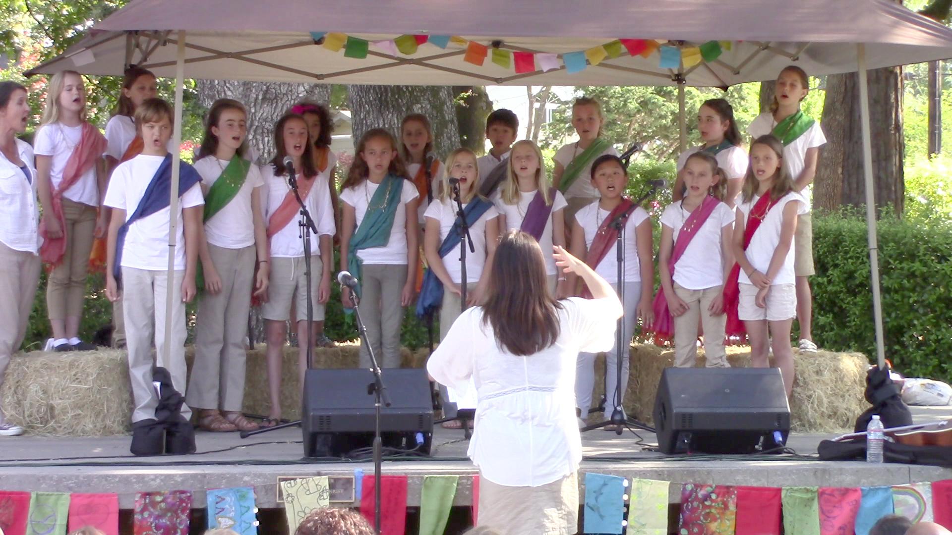 Concert Choir at 2015 Summerfest