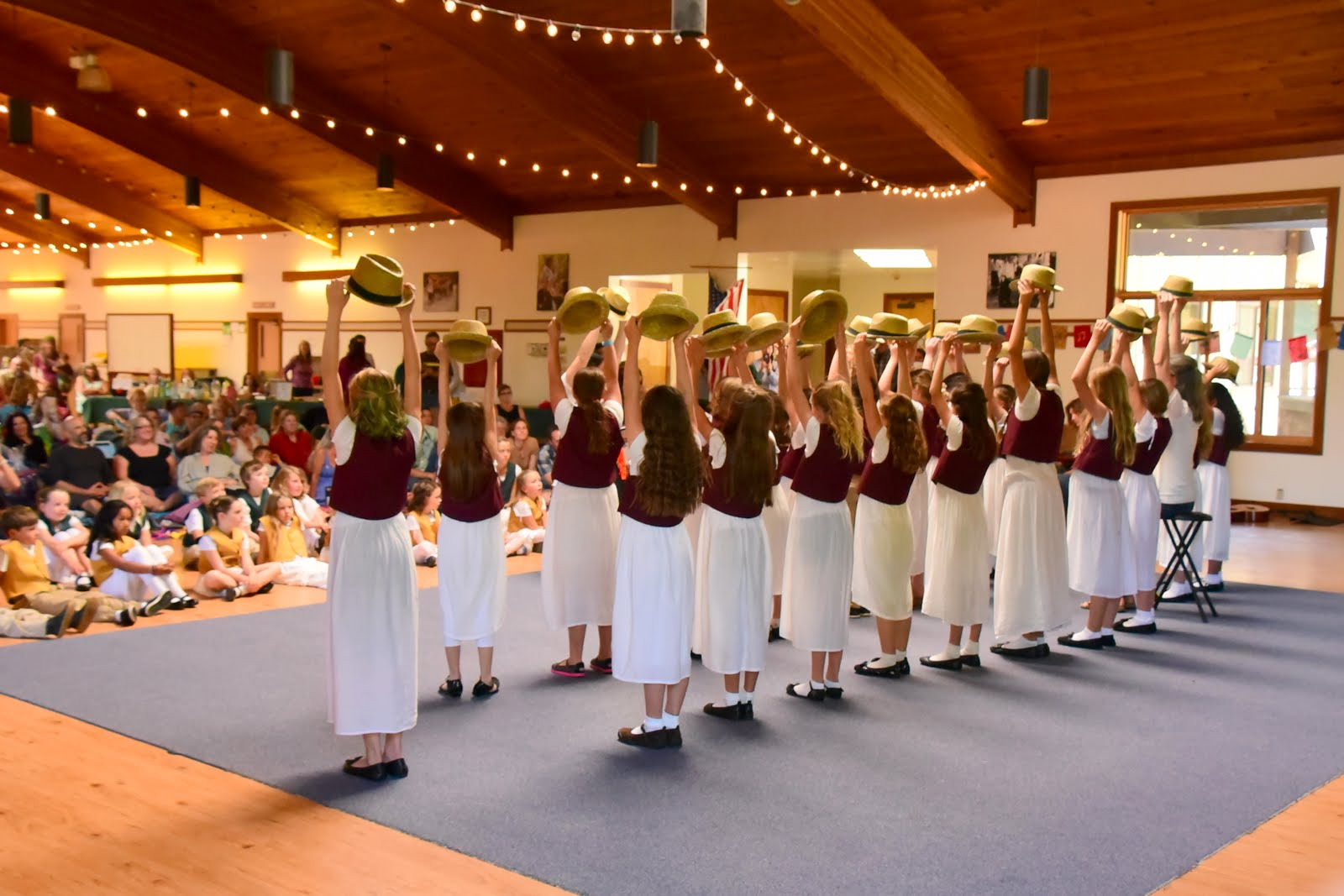 Bija Concert Choir at CYO Camp Lodge, Summerfest Concert June 2017