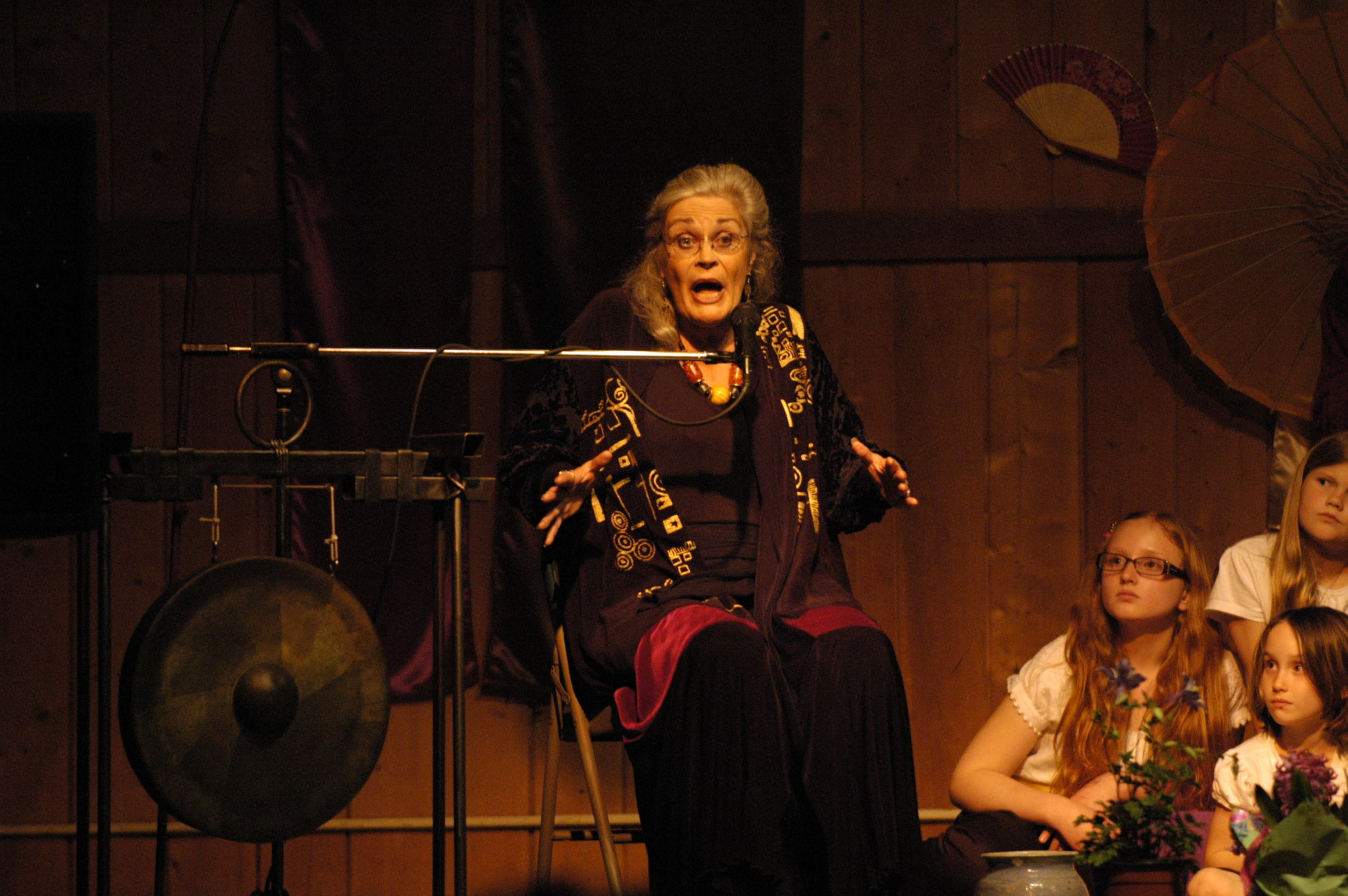Georgia Churchill, Storyteller in The Empty Pot, 2nd Annual Bija Storyconcert 2009