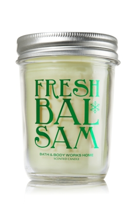 Fresh Balsam Candle : Bath & Body Works