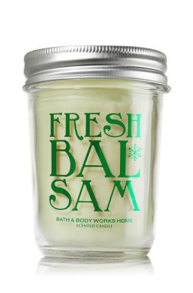 Fresh Balsam Candle : Bath & Body Works