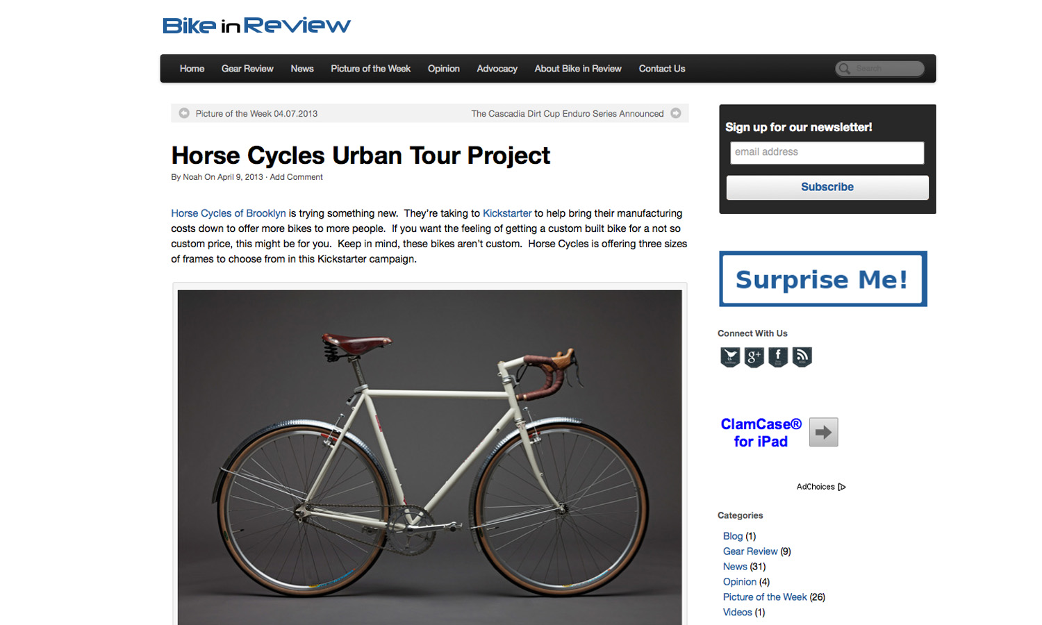 Bike In Review