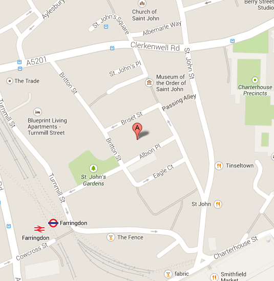 The Goldsmiths Centre (by appointment only)