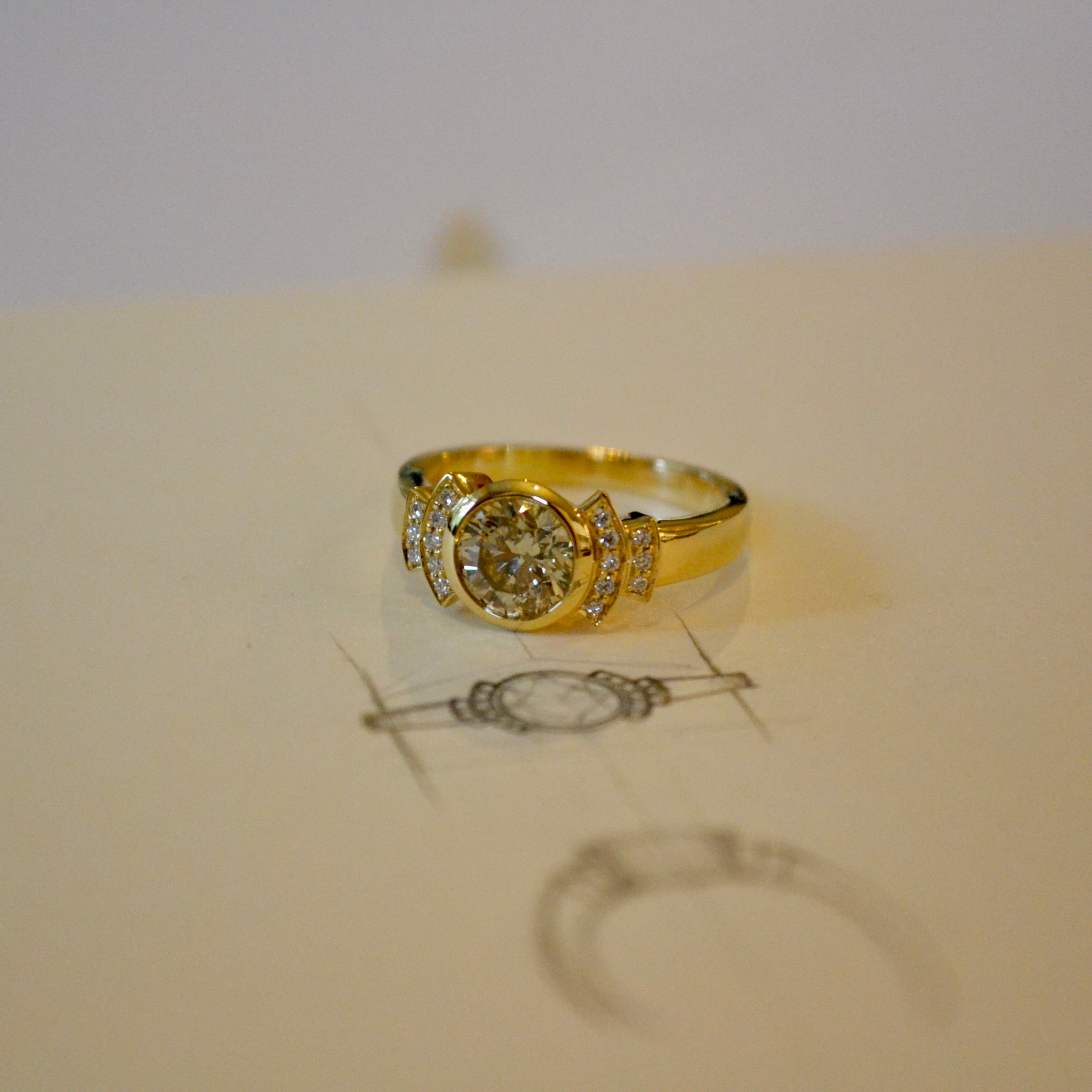 "Spanner & Wingnut ""Istanbul"" Ring"