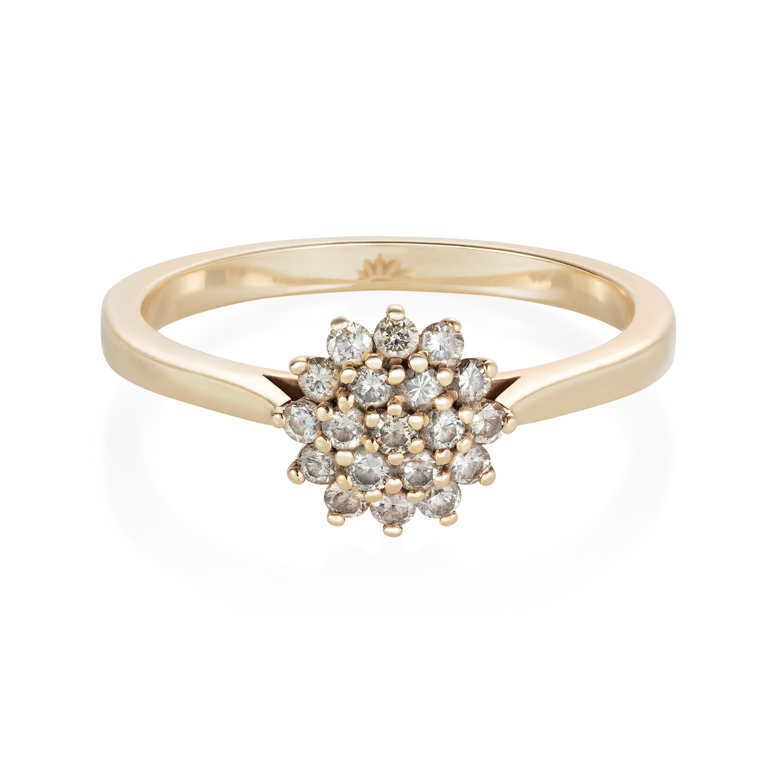 """Spanner & Wingnut """"Izzy"""" engagement ring 