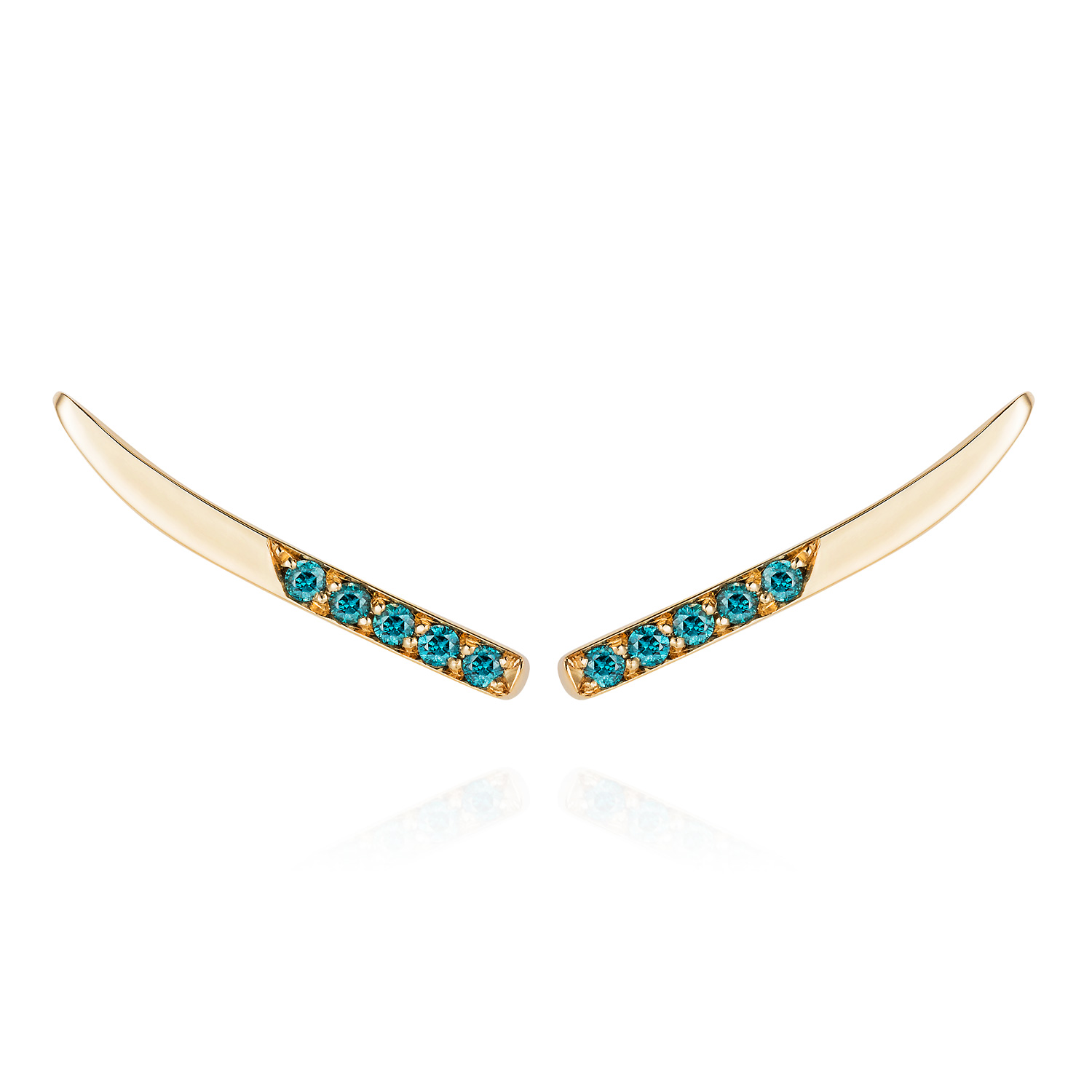 "Spanner & Wingnut ""Astro Tail"" Ear Climbers 