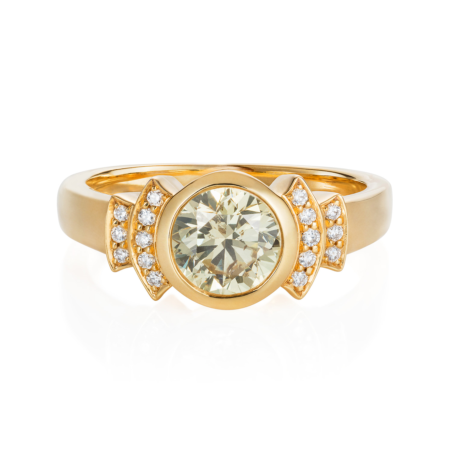 """Spanner & Wingnut """"Istanbul"""" engagement ring 