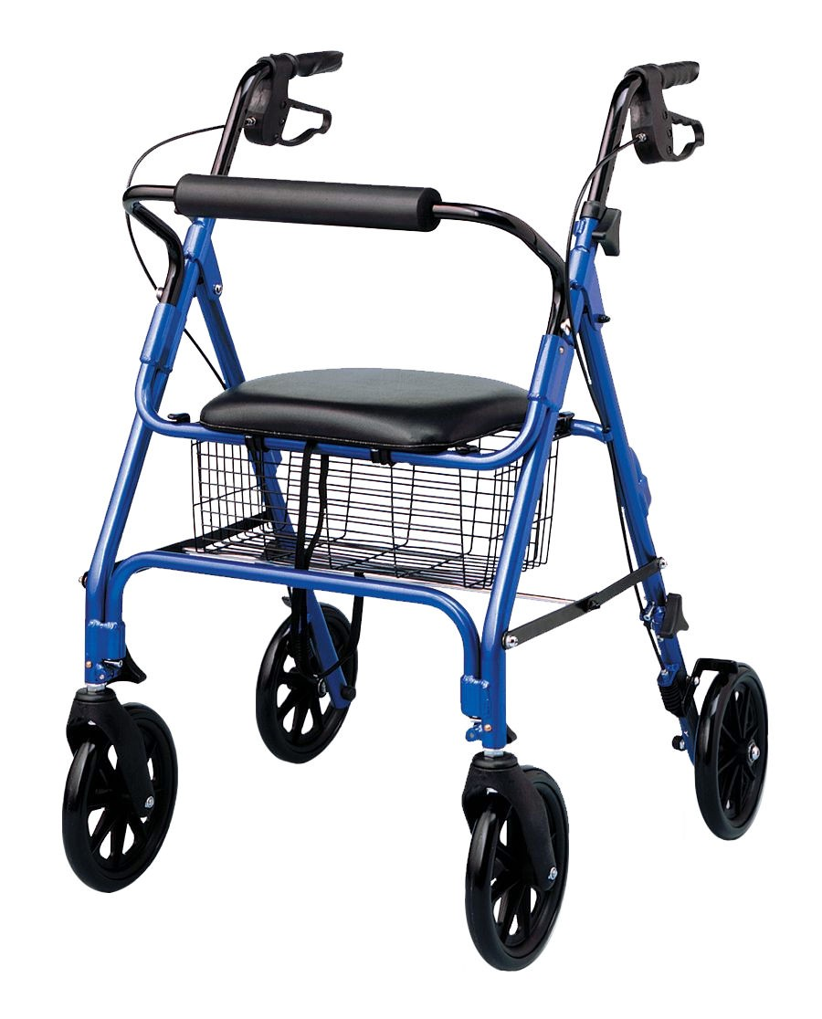our rollators come in all styles, colors and weights.