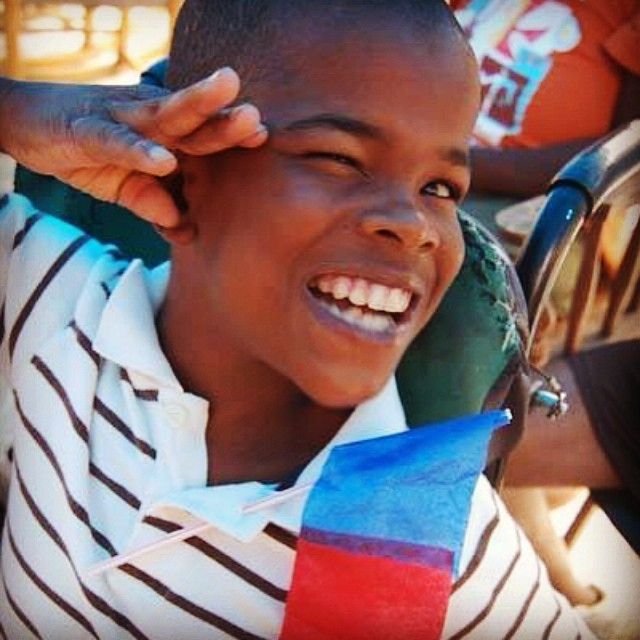 Happy #HaitianFlagDay from our friends at Wings of Hope! (Photo by Renee Dietrich)