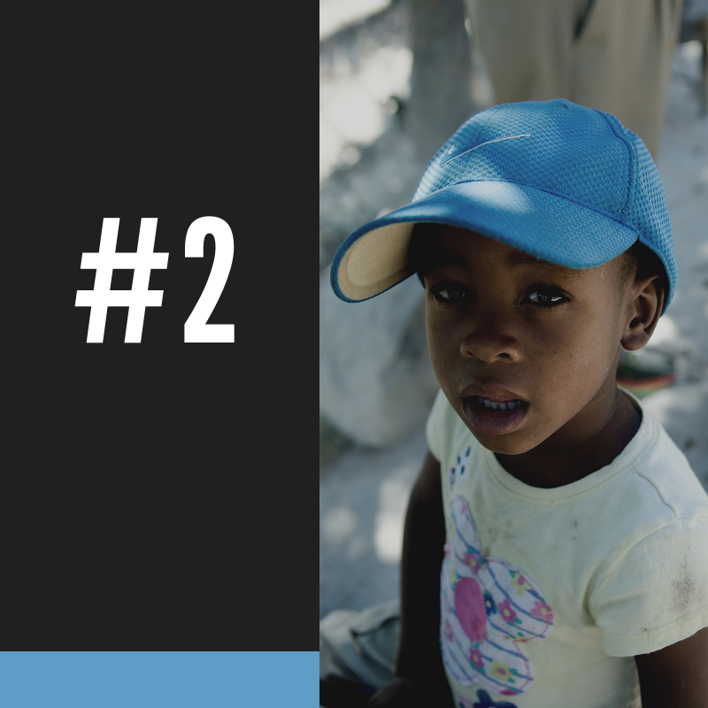 #2 - Sixty children under the age of five will die in Haiti today.HTF IS STOPPING THIS SHAMEFUL LOSS OF THE MOST VULNERABLE SPECIFICALLY THROUGH ITS EFFORTS IN THE CENTRAL PLATEAU AND JACMEL ENVIRONS.