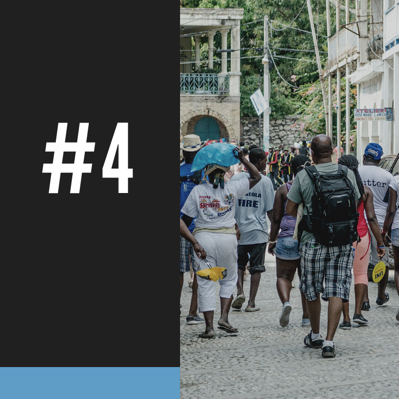 #4 - 78% of all Haitians live on less than $2/day.HTF IS CHANGING THAT BY SUPPORTING EDUCATIONAL PROGRAMS THAT LEAD TO HIGHER WAGES.