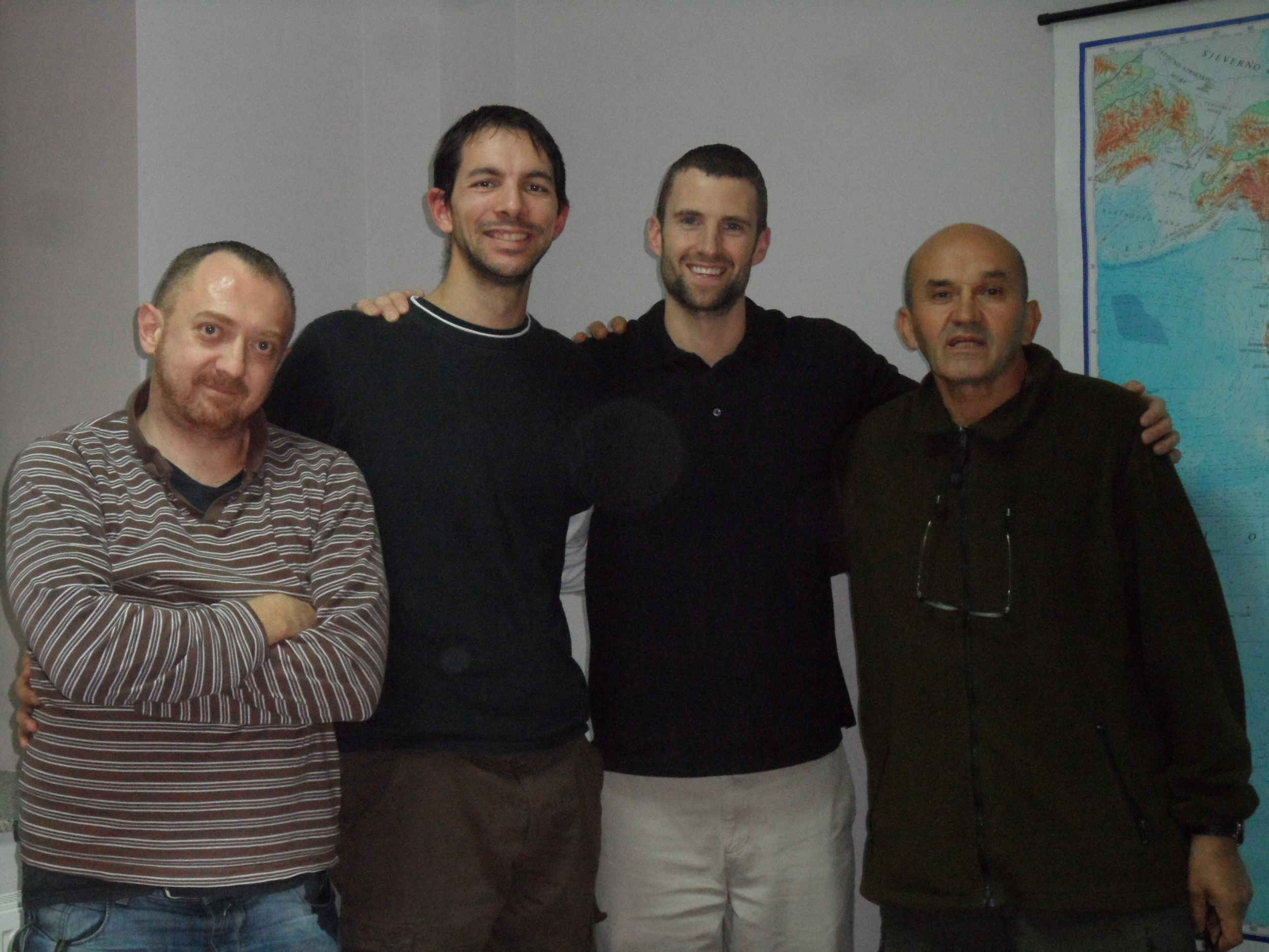 Students in the Sanctification and Spiritual Formation class at Mostar.
