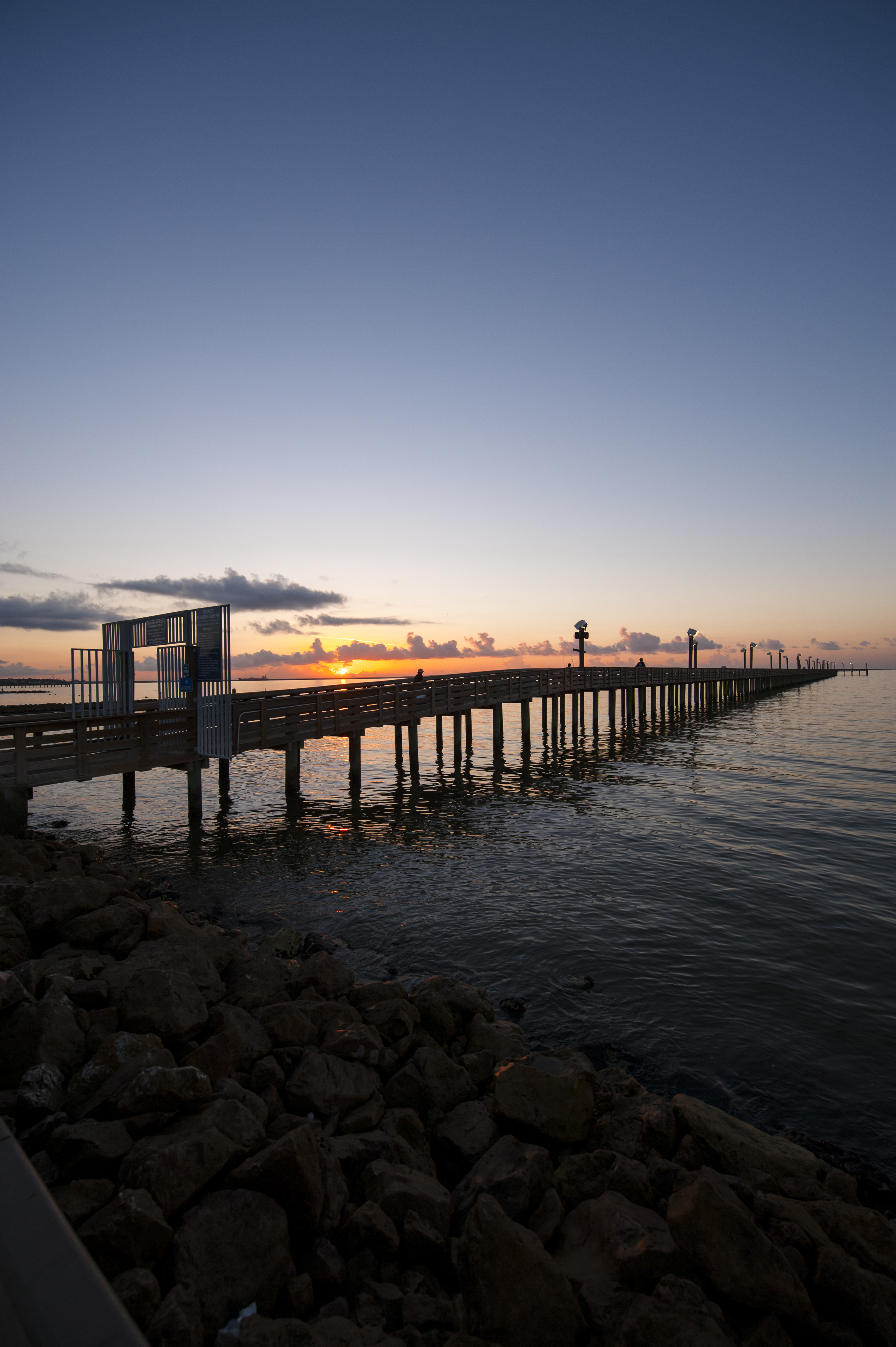 Sylvan Beach Park has an 1,100 foot pay to fish fishing pier that is known for great catches. From speckled trout to drum you can always be sure you'll have to put up a good fight in La Porte!