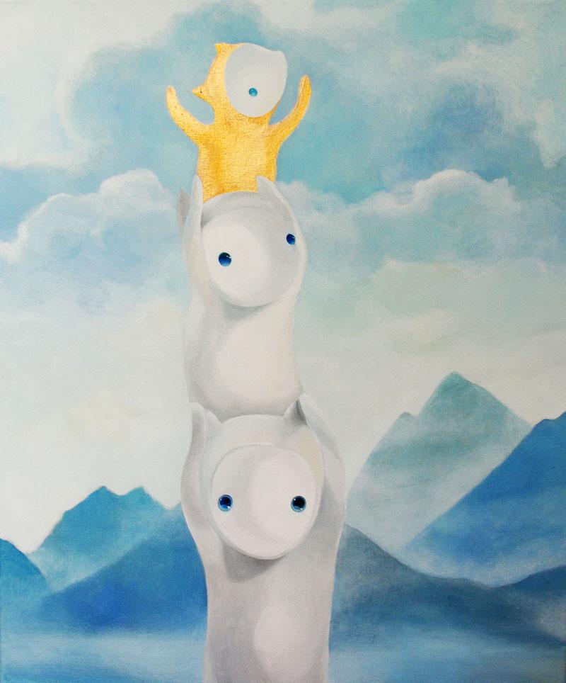 1.2.3   50 x 60 oil on canvas . 2012