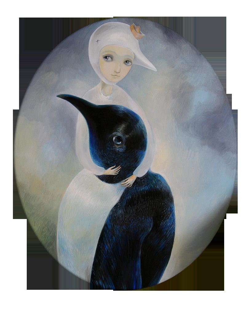 Avis   50 x 60 oil on canvas 2011
