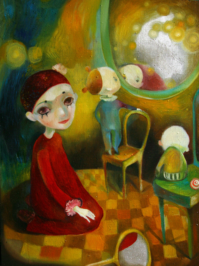 Circus   60 x 79    oil on canvas . 2007 – 2008