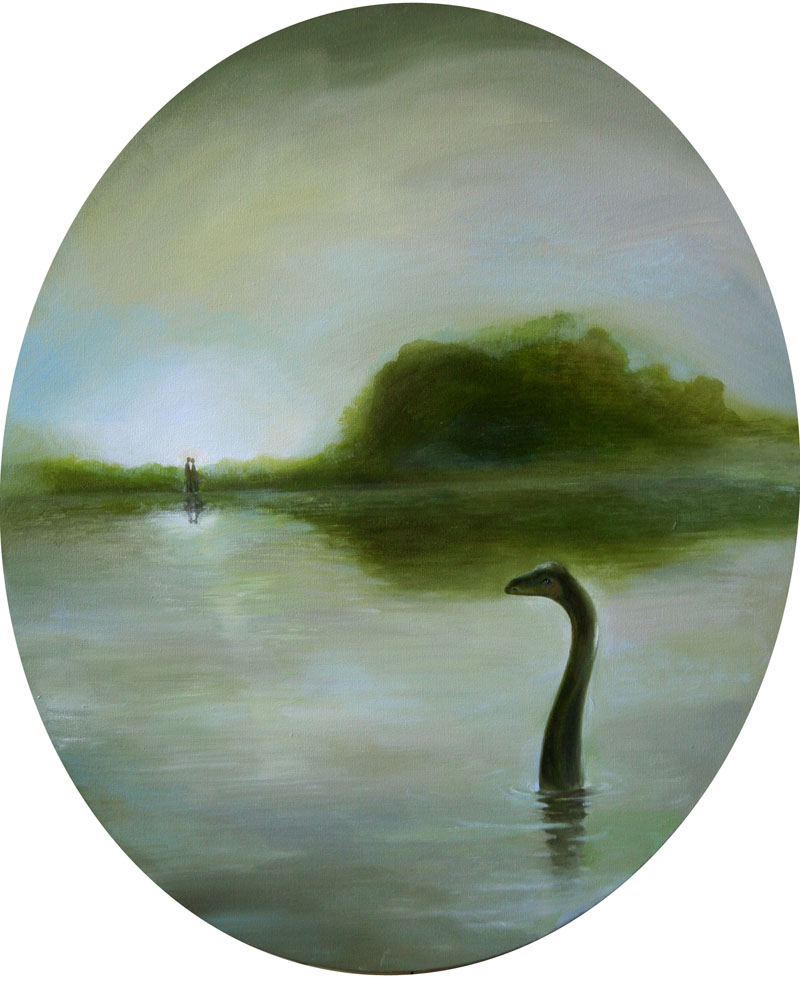 Lake   50 x 60   oil on canvas .  2011