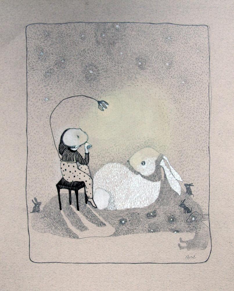 Paper, pen, colour  2005