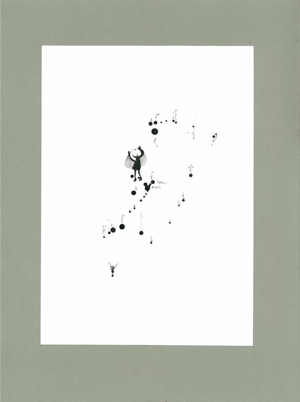 Paper, ink  2007