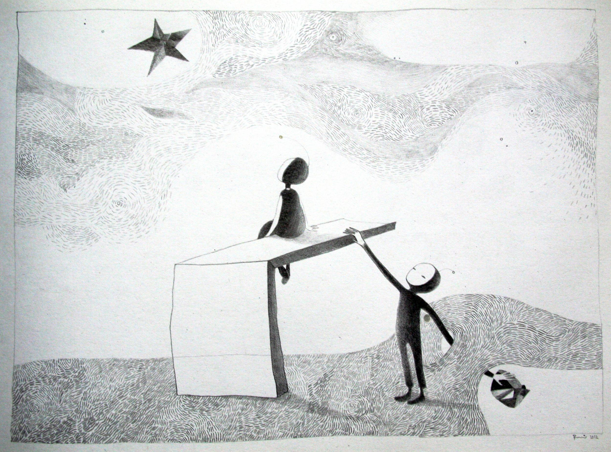 Love  Paper, pen  2012