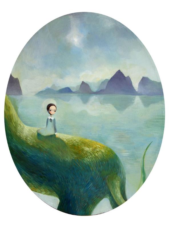 Landscape   50 x 40 oil on canvas    2008