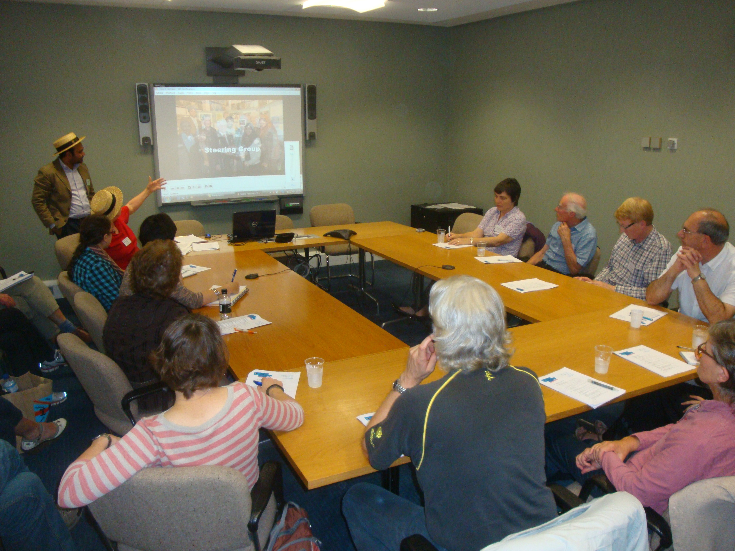 Luton Leading a Workshop at Fairtrade Annual Supporters Conference.jpg
