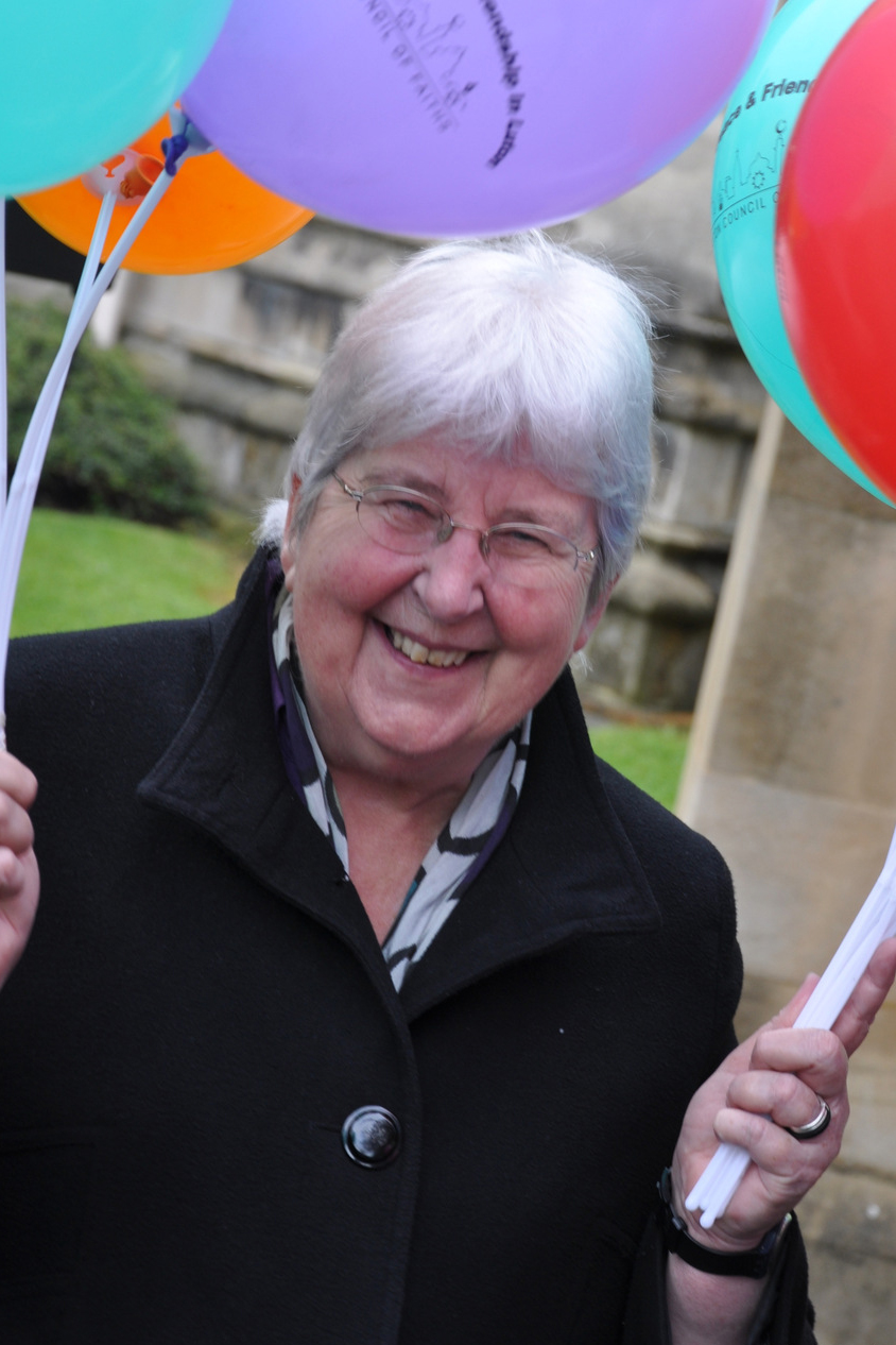 Sr. Maire Hayes   I am a sister of the Congregation of the Daughters of the Holy Spirit. I have previously taught in secondary schools in Birmingham and Liverpool, and have also lived and worked for 22 years in Santiago, Chile. I am currently the interfaith coordinator for the Diocese of Northampton and am working in Luton with GRASSROOTS, with responsibility for the Spirituality of Justice project, themed 'A Spirituality that does Justice'. I am also a member of the executive of National Justice and Peace Network (NJPN).