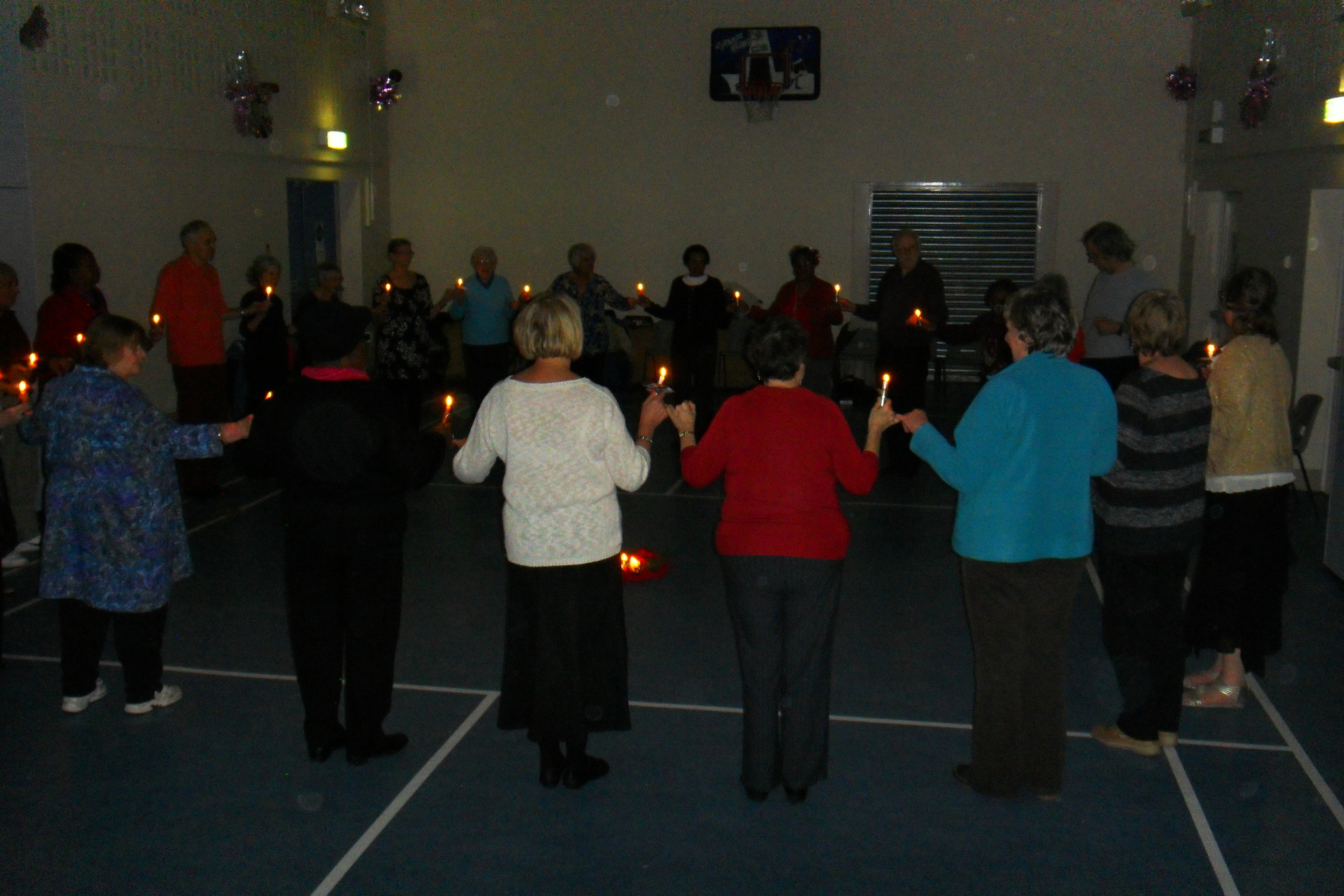 The Shepherd's Dance  - this is a traditional French Dance in which the dancers hold candles and mark out the shape of a star with their footwork as they progress