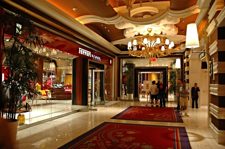 Wynn Resort Ferrari