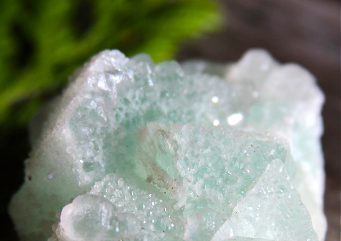 Green Fluorite - Great for the nervous systems + attracting fairies