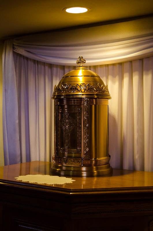 The Tabernacle at St. Anthony's Parish