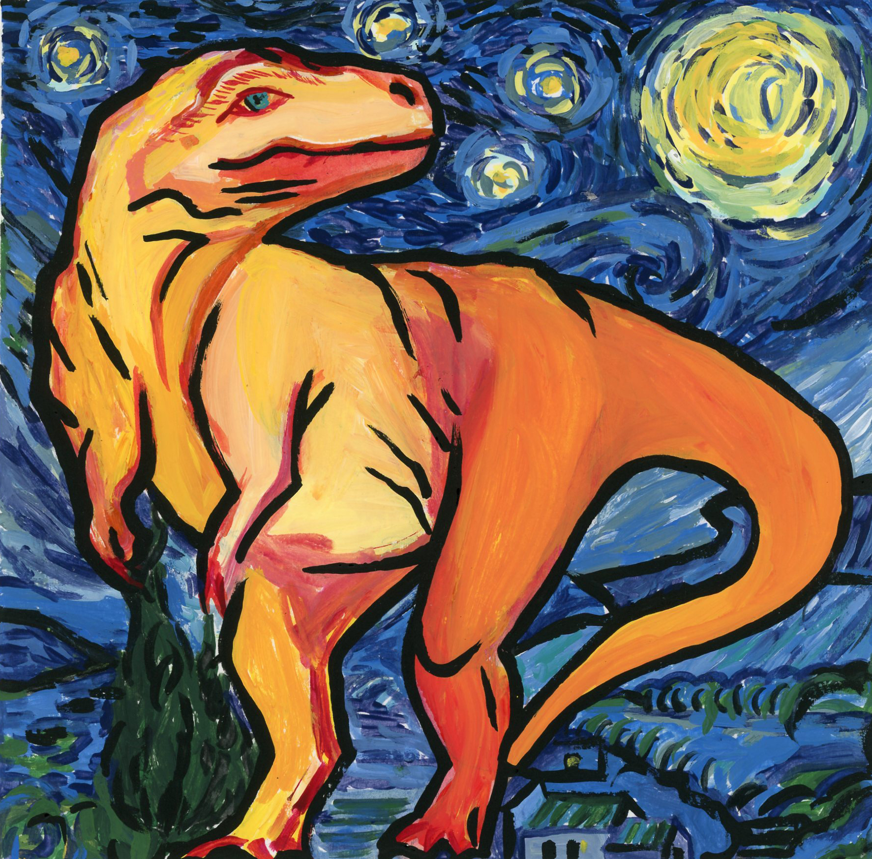 Starry-saurus Rex
