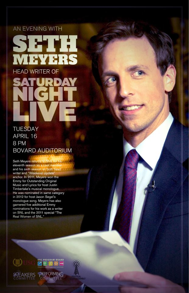 An evening with Seth Meyers (2013)