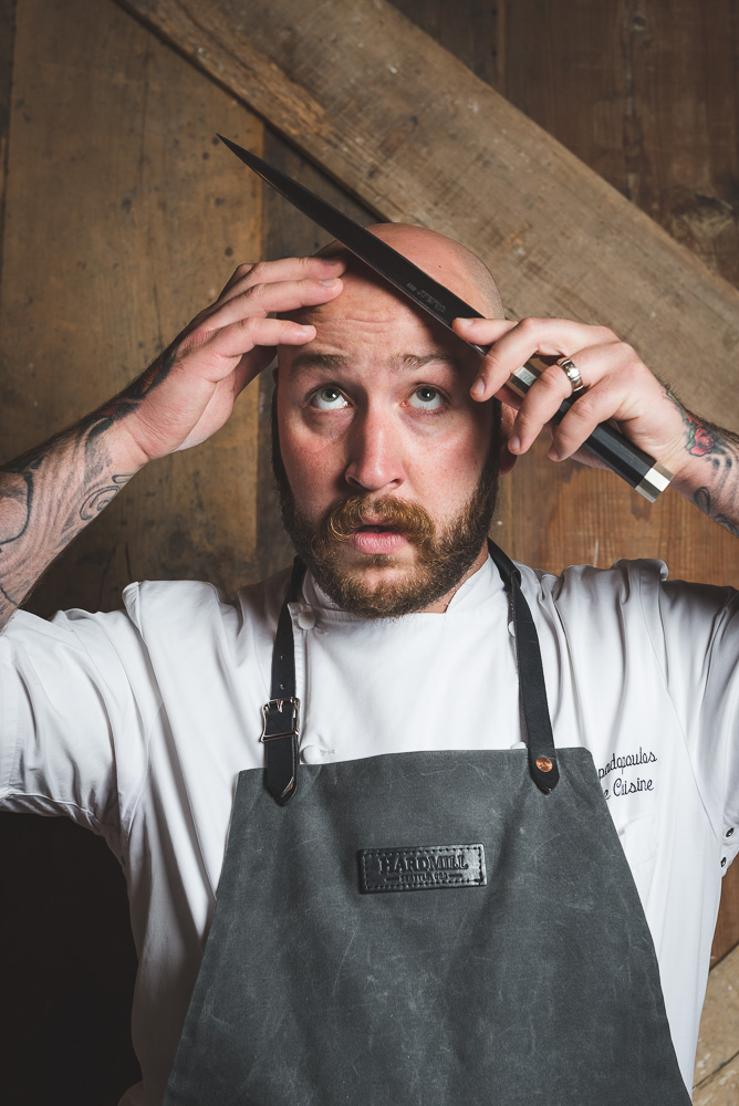 Michigan Ave Magazine - Portrait of Executive Chef Jimmy Papadopoulos of Chicago, IL