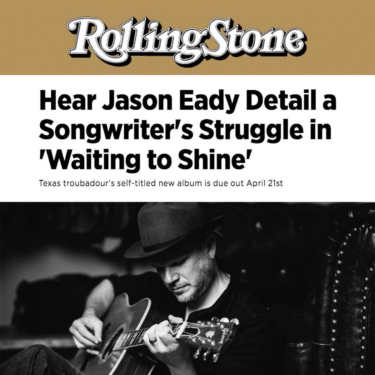 Rolling Stone - Jason Eady