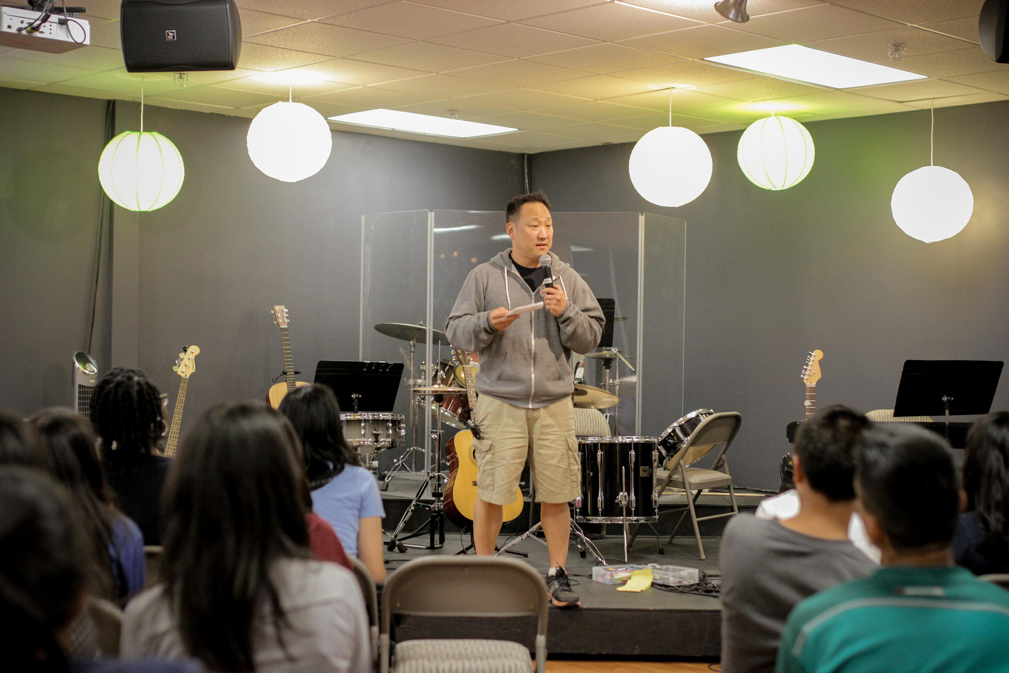 Afterwards, Teacher Steve gave us a rousing talk on making the most of our summer through serving the people in our lives and learning more about God. Let's all spur each other on to finish the Summer Challenge!