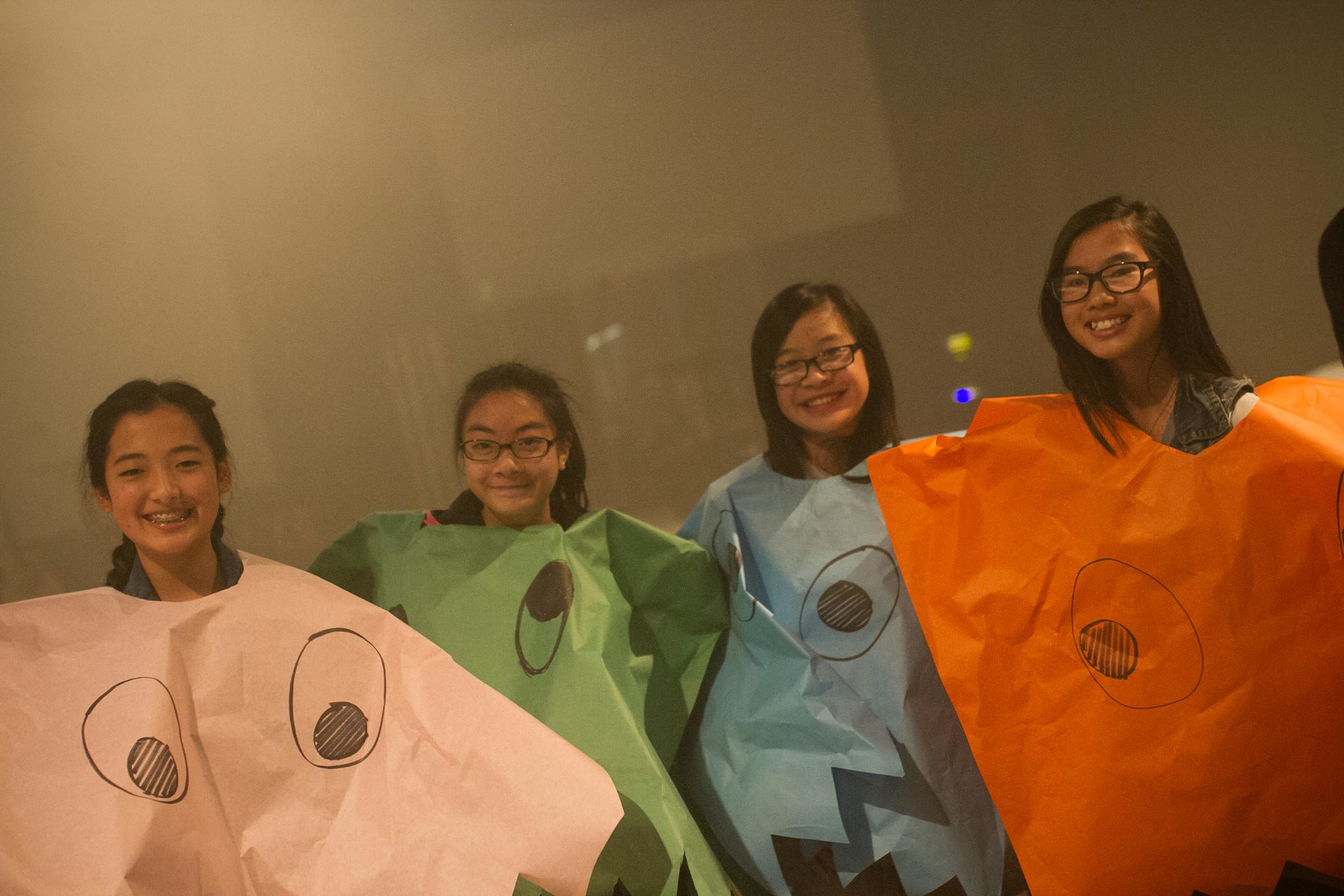 LIKE THESE GIRLS! Don't be fooled by their sweet exterior--these ghosts were pretty vicious on the playing field.