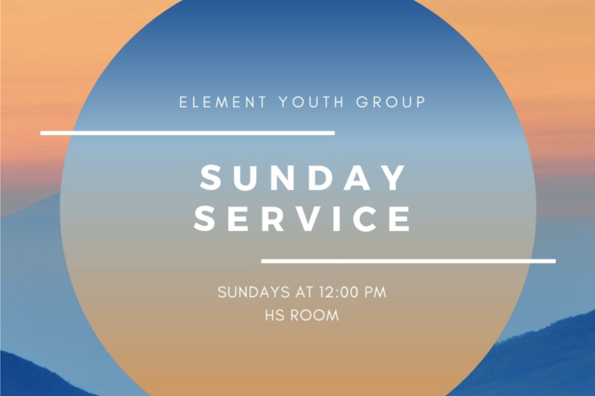 Sunday Service - Be sure to join us at 11:30 PM @ 1265 Harbor Bay Parkway in the HS room.