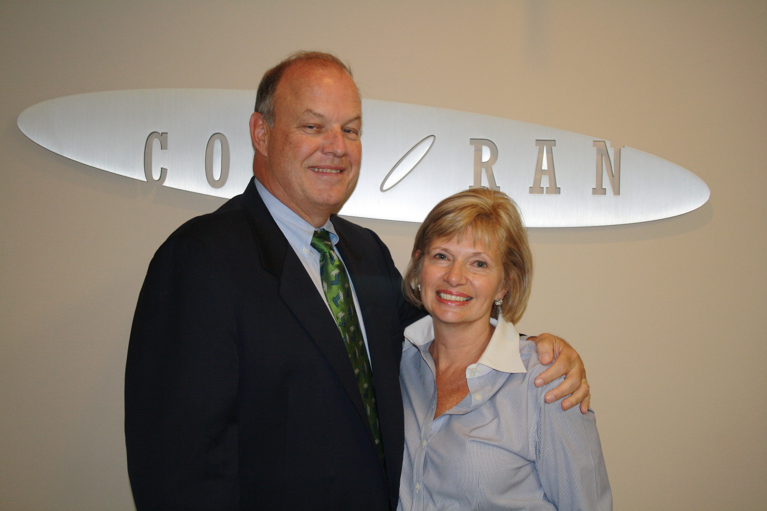 Tom and Debbie Corcoran, 2014.
