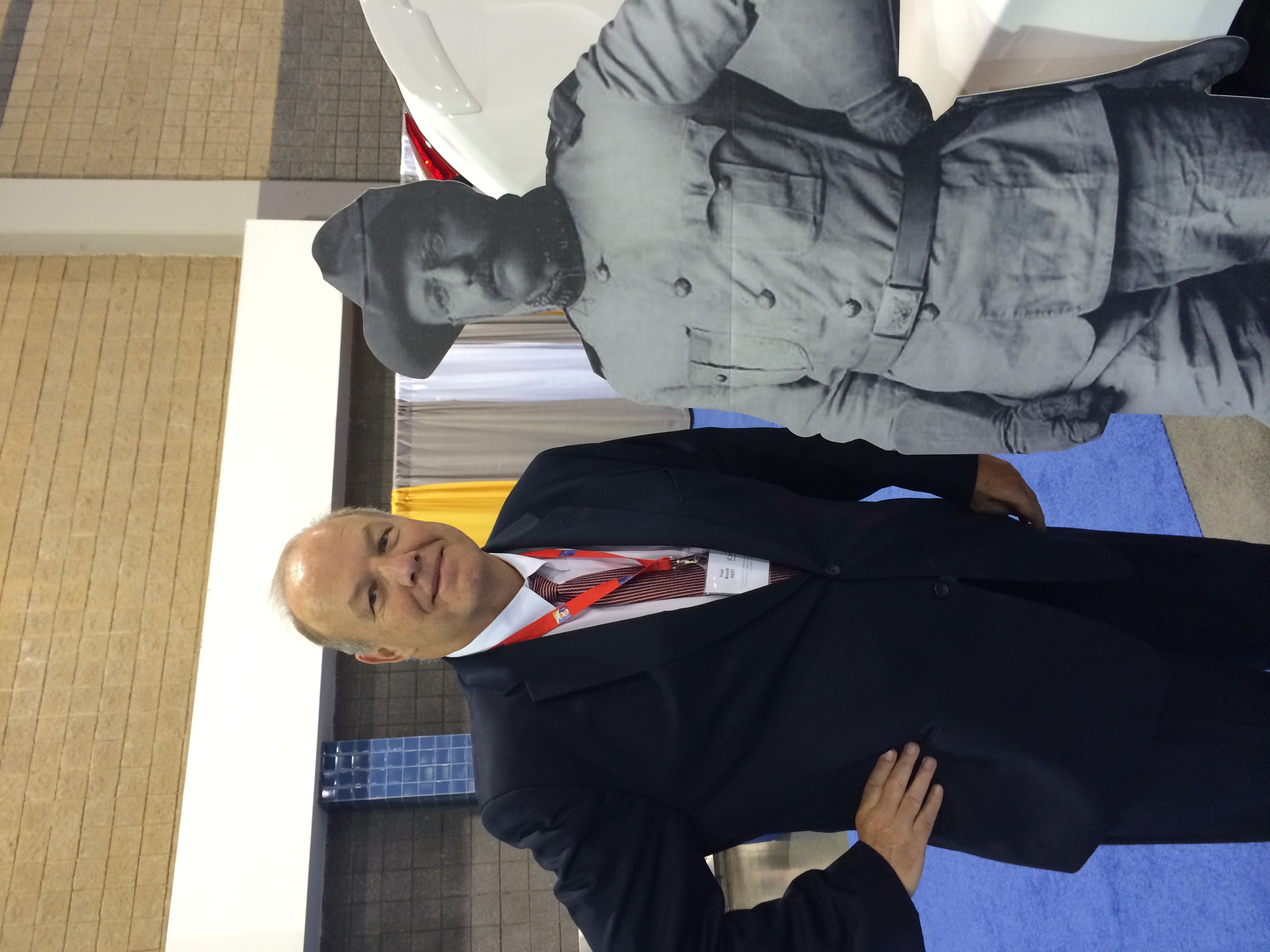 Tom and Teddy Roosevelt at the ICMA Annual Conference, 2014.