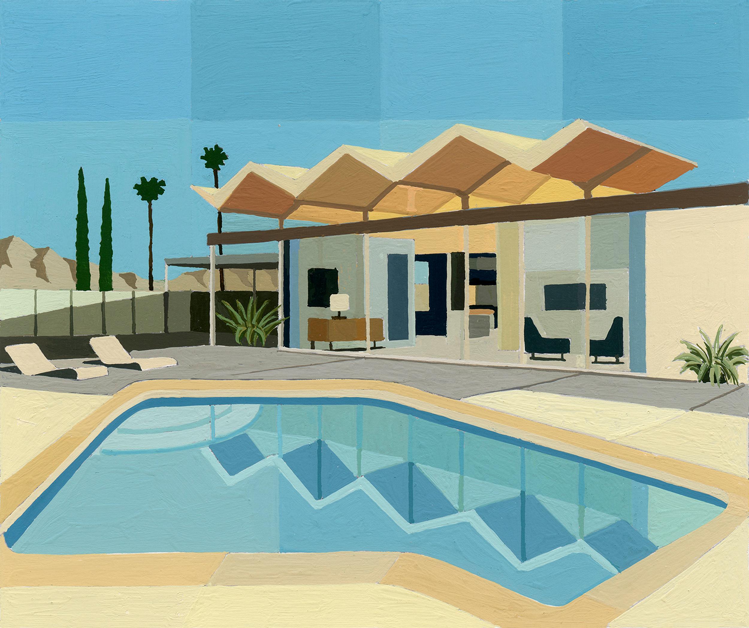 Burgess Wexler Steel House with Zig Zag Roof III study.jpg