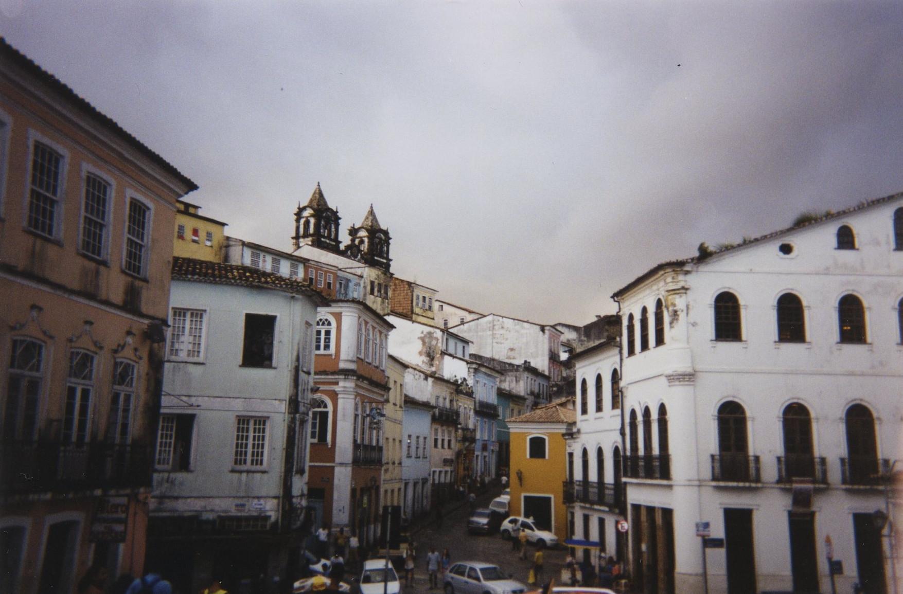 Salvador da Bahia, quartier du Pelourinho.