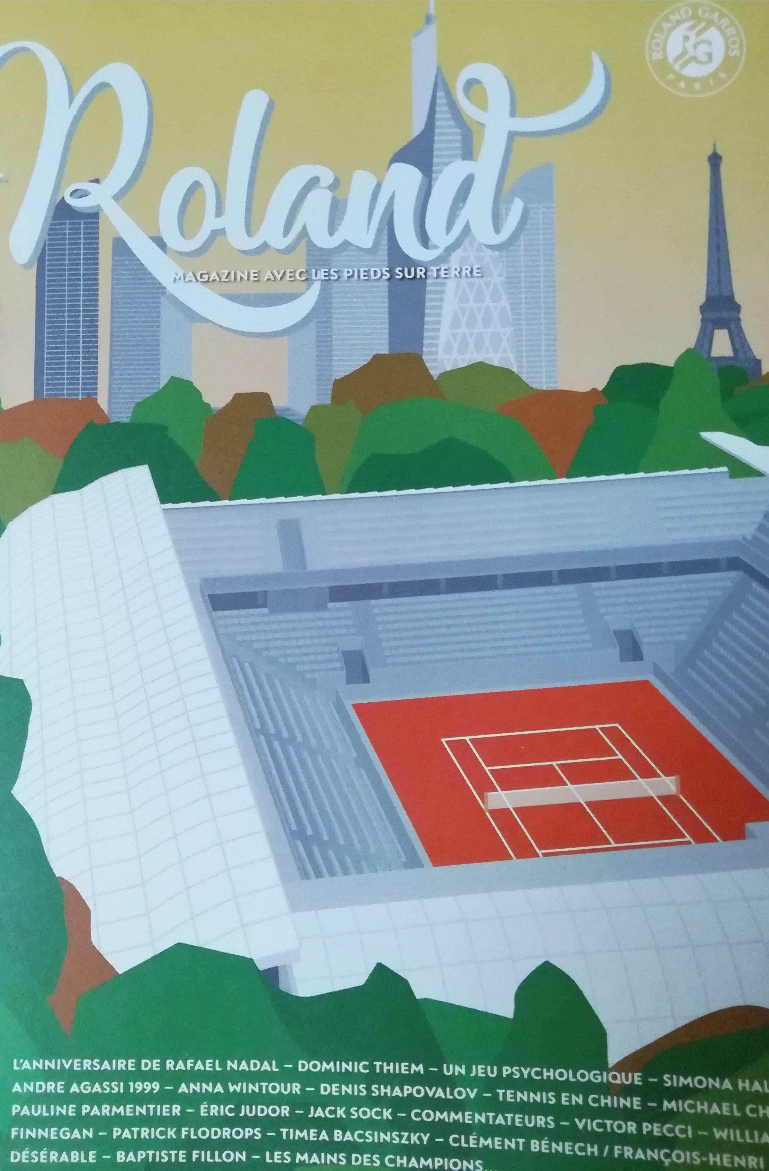 Couverture Roland magazine