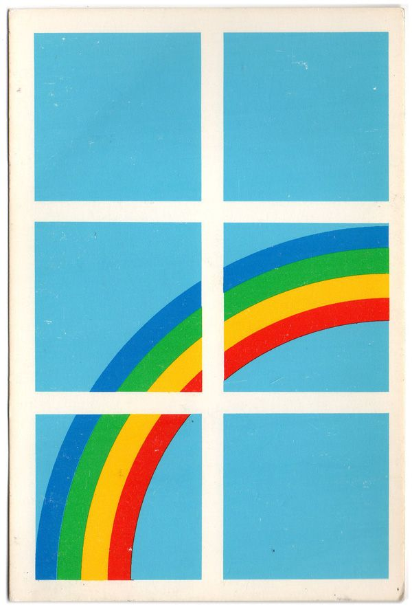 80s Danish Postcard