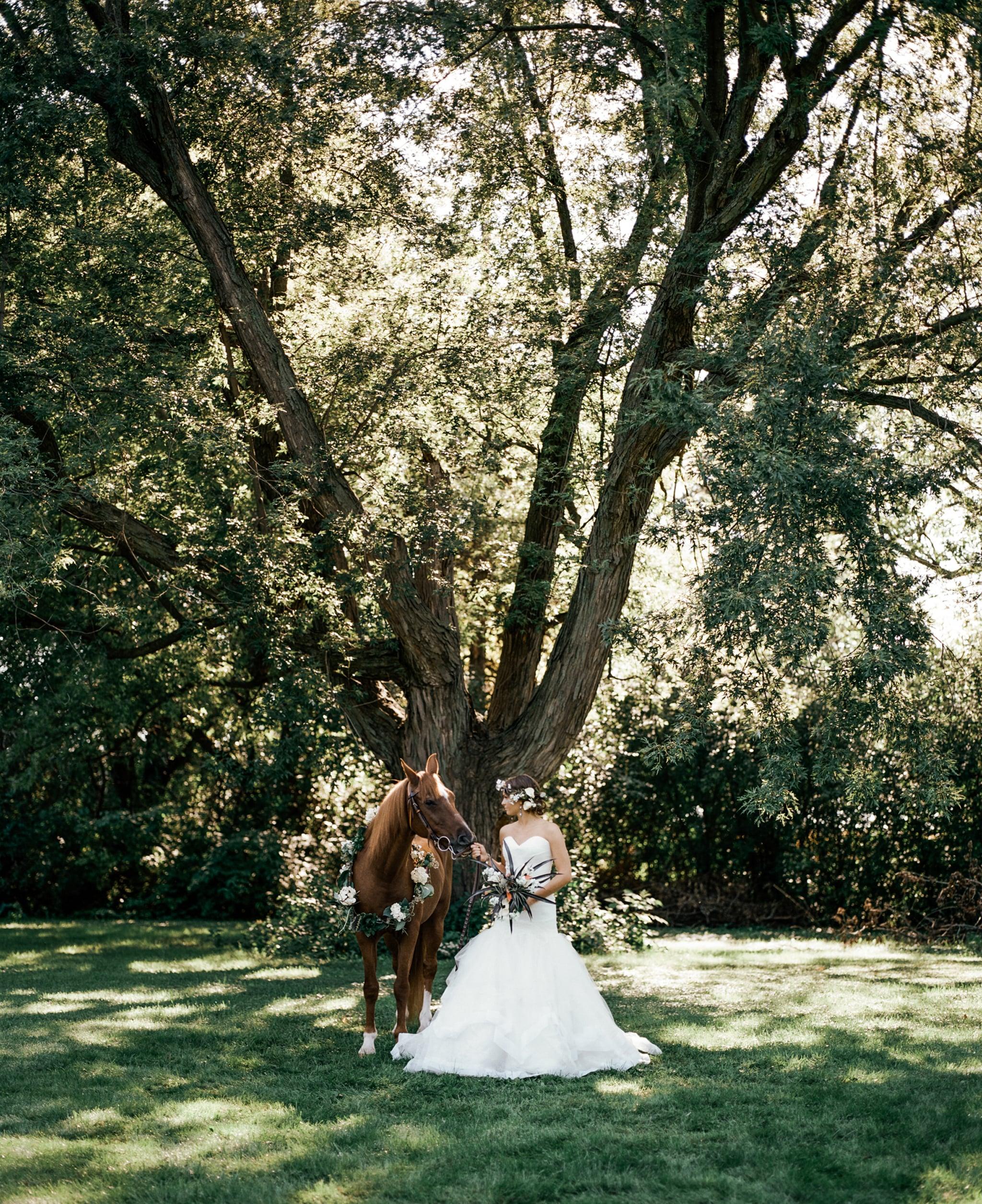 Horse-bride-wedding-photography