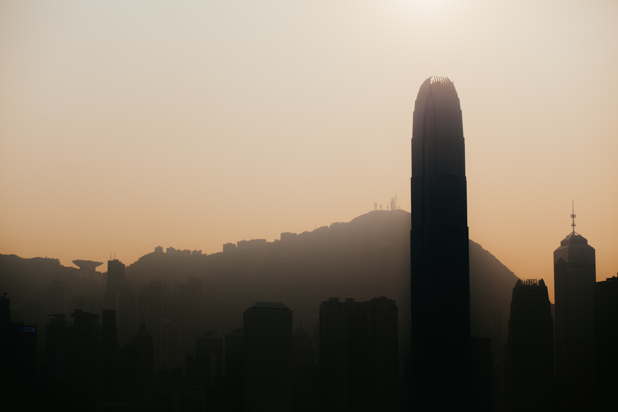 """This monstrous building was once the tallest building towering over Hong Kong, until the International Commerce Centre in Kowloon dethroned it. Now, this building is commonly referred to as """"the building that was in Batman""""."""