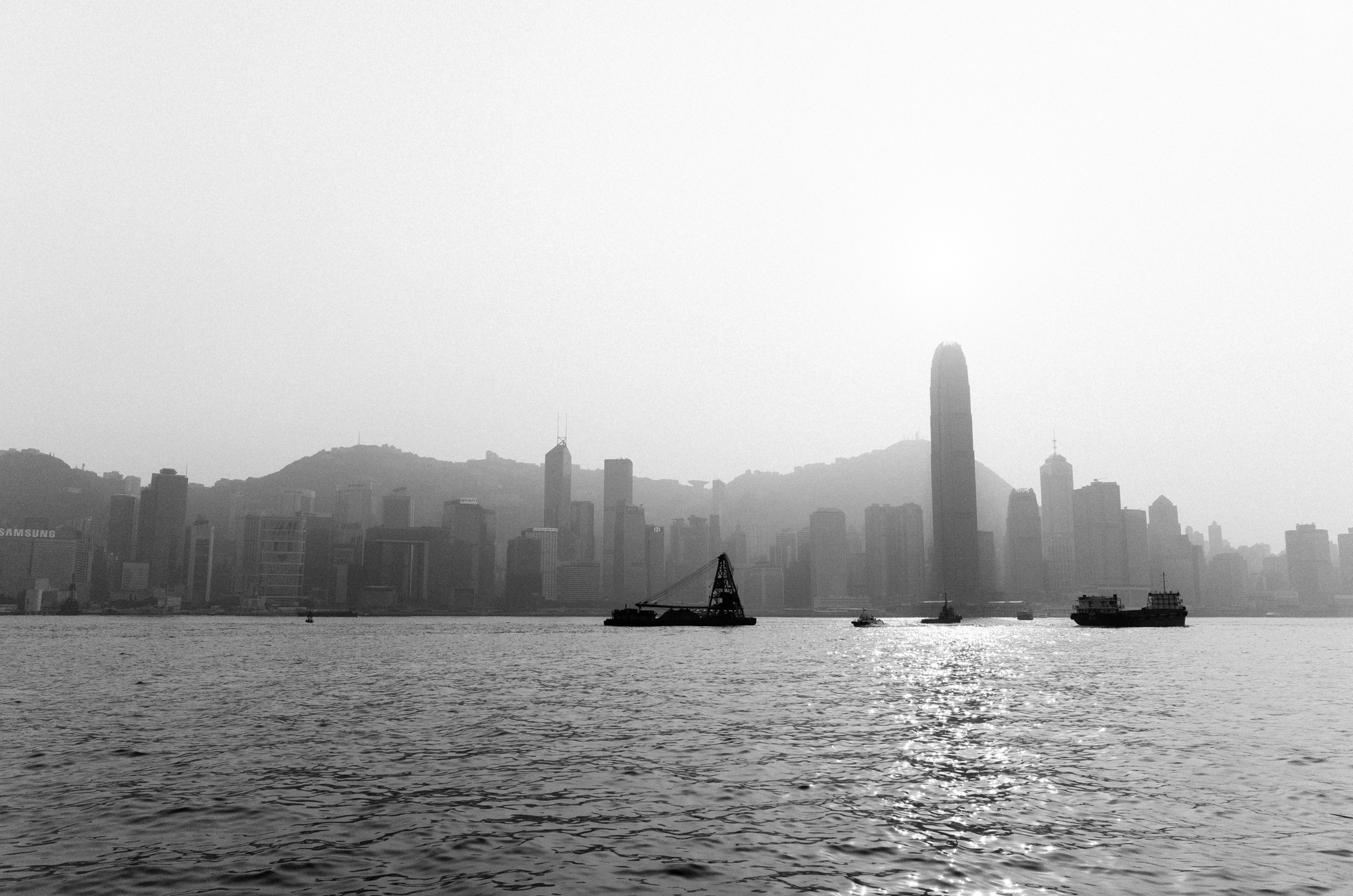 Hong Kong was never known for its pristine air quality. As a result, smog often curbs one's ability to clearly view the countless skyscrapers across the harbour.