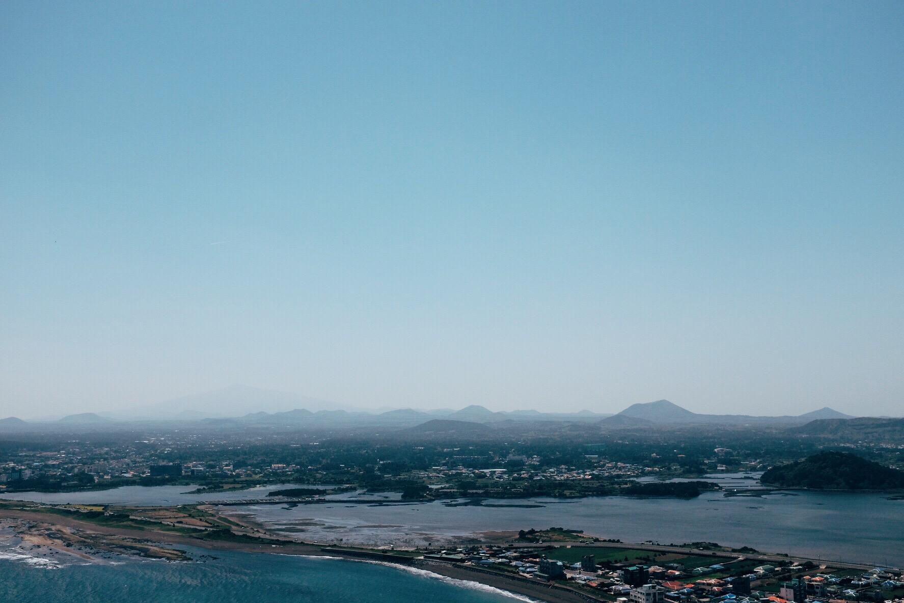 Seongsan Ilchulbong, Jeju Island, Korea